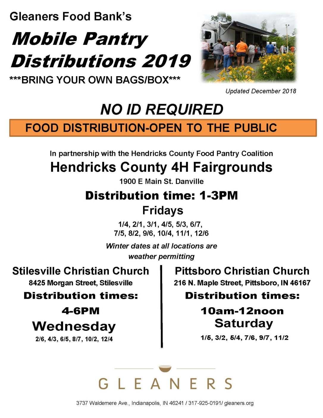 Mobile Pantry Flyer Hendricks County