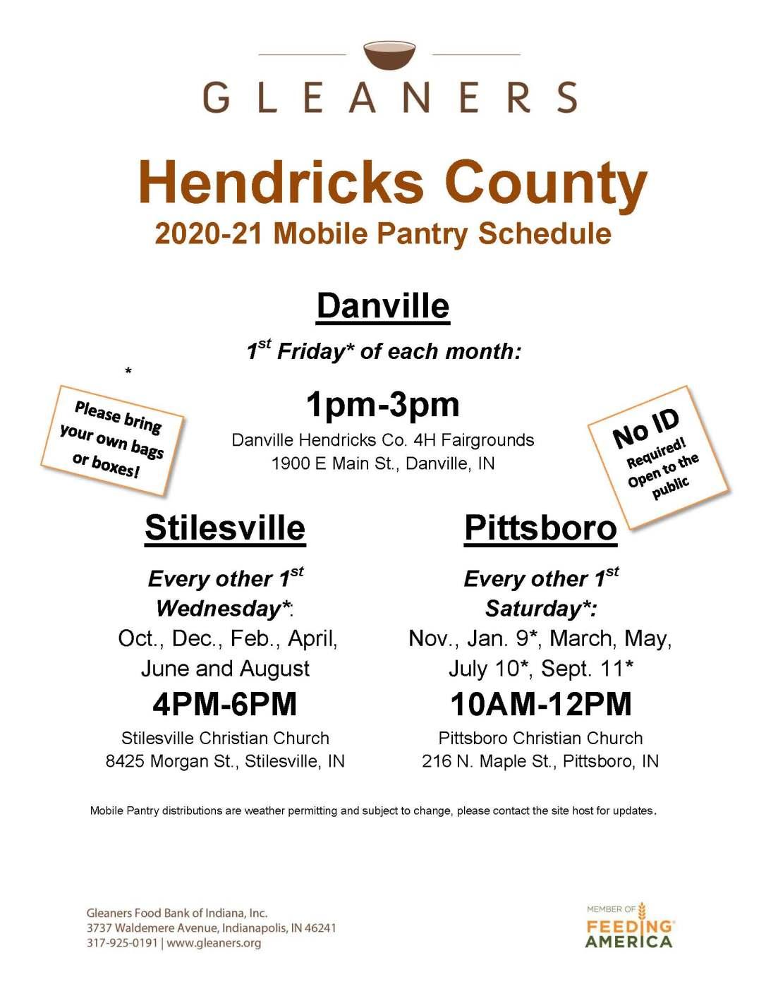 Hendricks Co Mobile Schedule 20-21